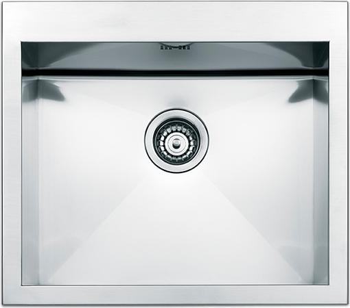 Lavello Cucina Apell SQ50ISC 1 Vasca Inox Prezzoforte - 61599