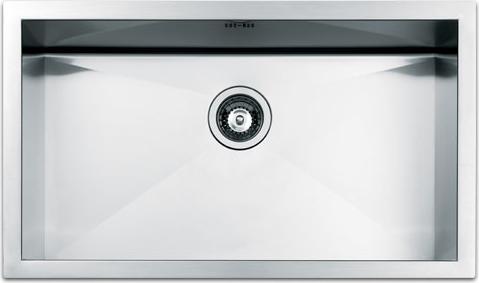 lavello cucina apell sq72fsc 1 vasca inox prezzoforte - 55219