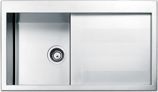Lavello Cucina Apell SQ861IRSC 1 Vasca Inox Prezzoforte - 25730