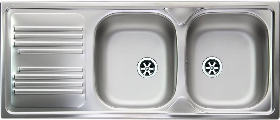 Lavello cucina apell ti1162mlpc 2 vasche inox prezzoforte 103326 - Gocciolatoio cucina ...