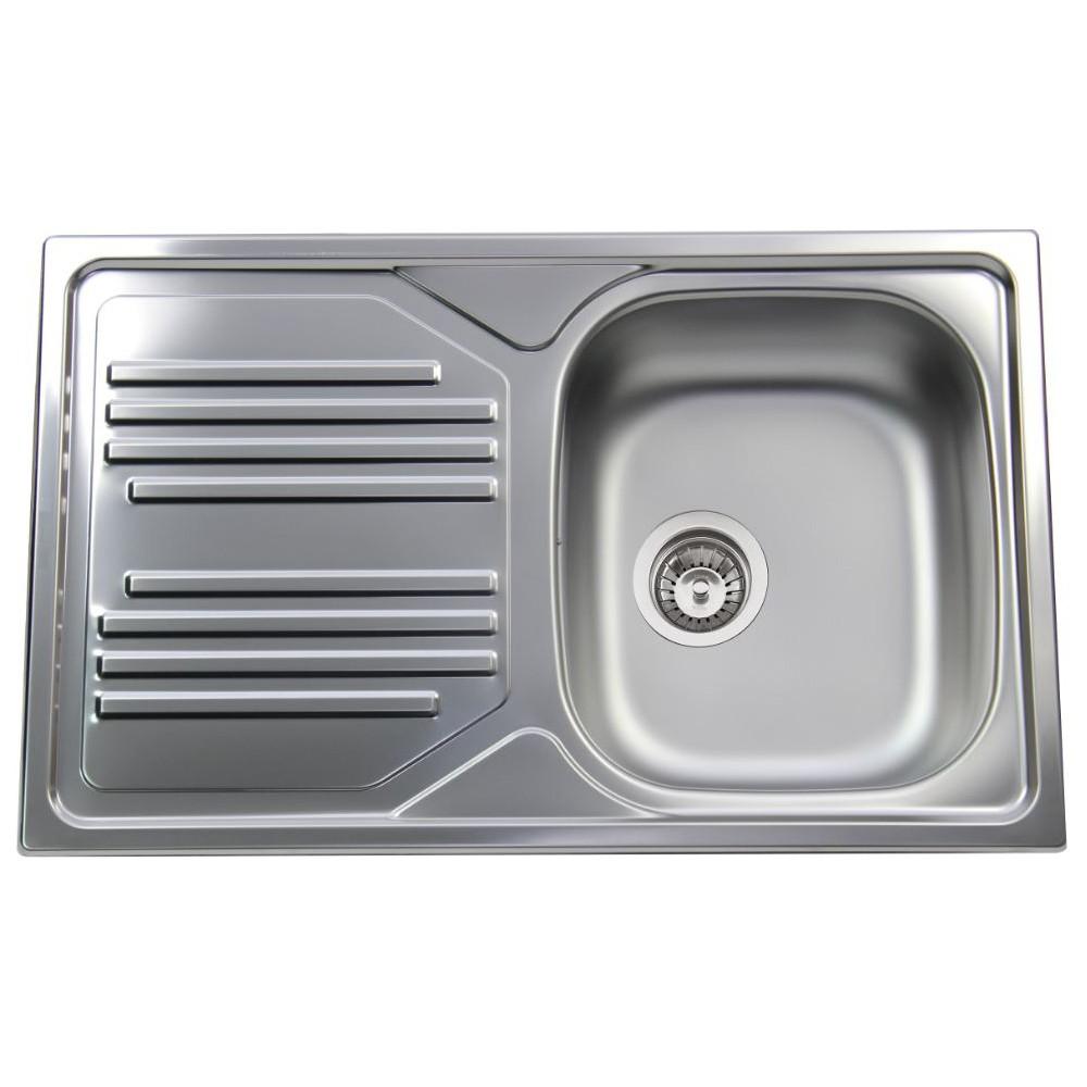 Apell lavello cucina incasso 1 vasca con gocciolatoio sx for Cucina 1 80