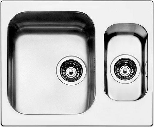 Apell Lavello Cucina Incasso 1 Vasca e 1/2 Larghezza 58 cm materiale ...