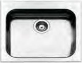 Apell Lavello Cucina 1 Vasca Incasso Larghezza 57 cm materiale ...