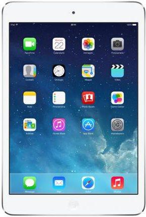 "Apple Tablet 7.9"" 32GB Wi-Fi Bluetooth 4.0 iOS 7 Argento ME280 iPad Mini Retina"