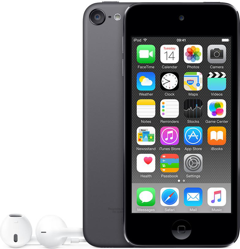 "Apple iPod Touch Lettore MP3 MP4 16 GB 4"" Touch WiFi Bluetooth iOS 8 MKH62BTA"