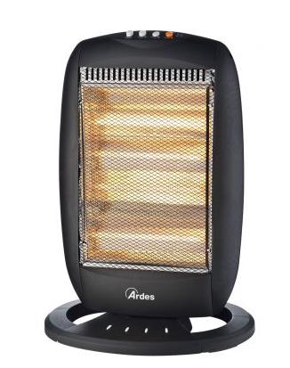 Stufa elettrica alogena ardes 455b prezzoforte 104717 - Stufa elettrica basso consumo ...