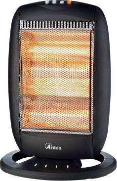 Ardes stufa elettrica alogena a basso consumo potenza 1600 for Stufe alogene a basso consumo