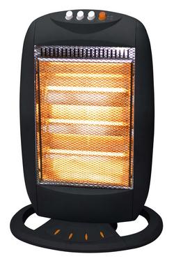 Ardes stufa elettrica alogena a basso consumo potenza 1200 watt oscillante con termostato colore - Stufa alogena basso consumo ...