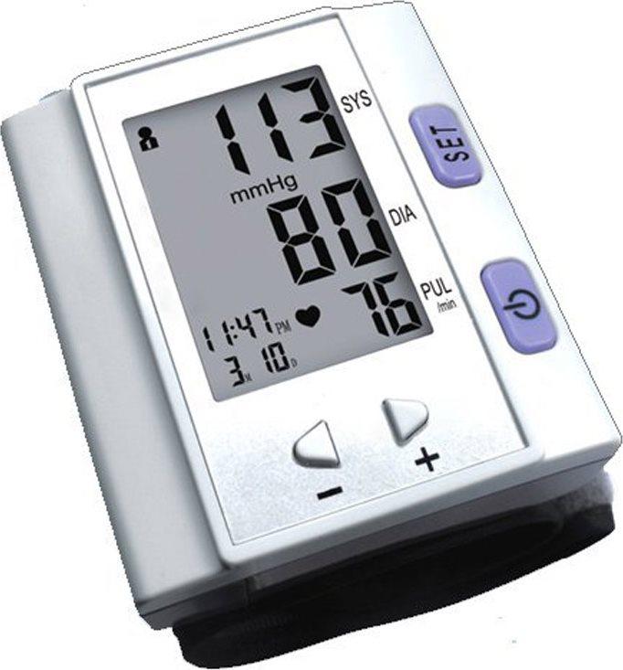 Ardes Misuratore di pressione arteriosa bracciopolso automatico digitale M253P