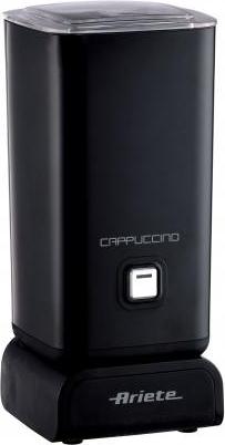 Ariete Macchina Cappuccinatore Montalatte elettrico Nero Cappuccino 2878