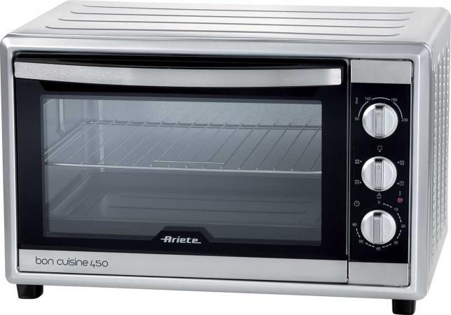 Fornetto elettrico ariete 45 litri 1800 watt bon cuisine - Forno elettrico ventilato da incasso prezzi ...