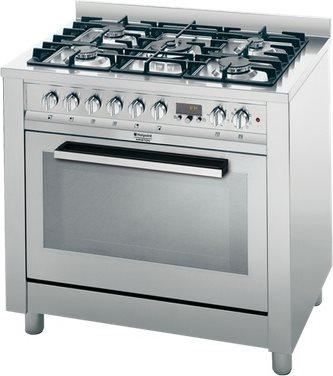 Hotpoint Ariston Cucina a Gas 5 Fuochi Forno Elettrico Multifunzione ...