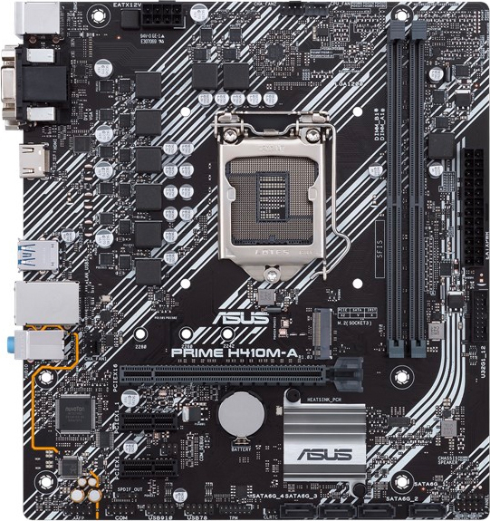 Asus 90MB13G0-M0EAY0 Scheda Madre PRIME H410M-A Micro ATX Intel H410