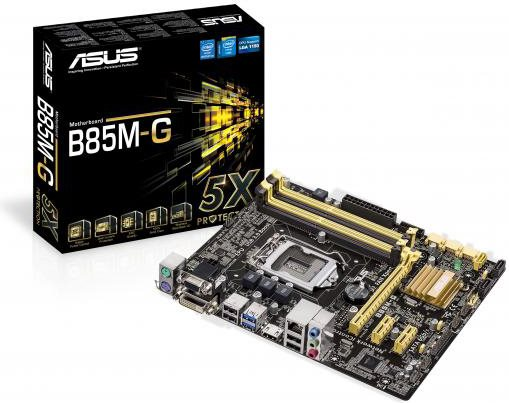Asus Scheda madre Chipset Intel B85 (90MB0G50M0EAY0) B85MG SK1150