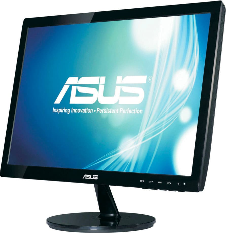 """Asus Monitor LED 18.5"""" 1366x768 px 250 cdm² 50.000.000:1 VGA - VS197D"""