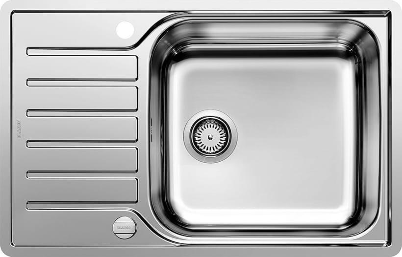 Lavello Cucina 1 Vasca Incasso con Gocciolatoio Larghezza 78 cm materiale  Acciaio Inox - 1623140 Lantos Xl 6 S-if Compact