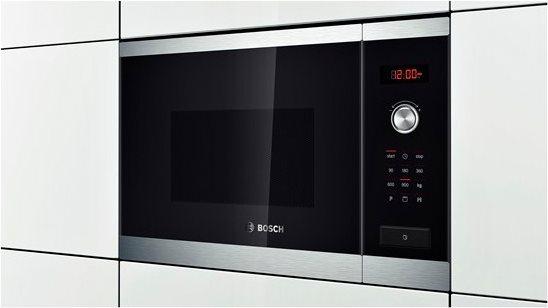 Bosch forno a microonde da incasso combinato con grill for Forno microonde combinato incasso