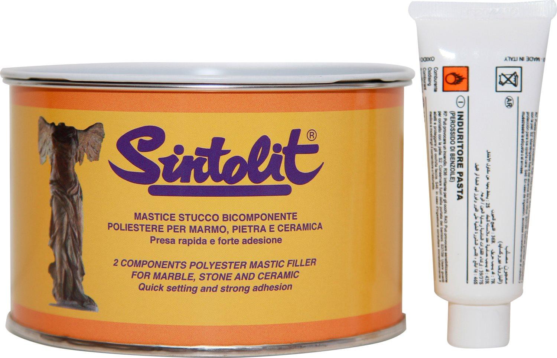 Bandini Mastice Stucco solido per marmo colore Bianco confezione 500 ml Sintolit