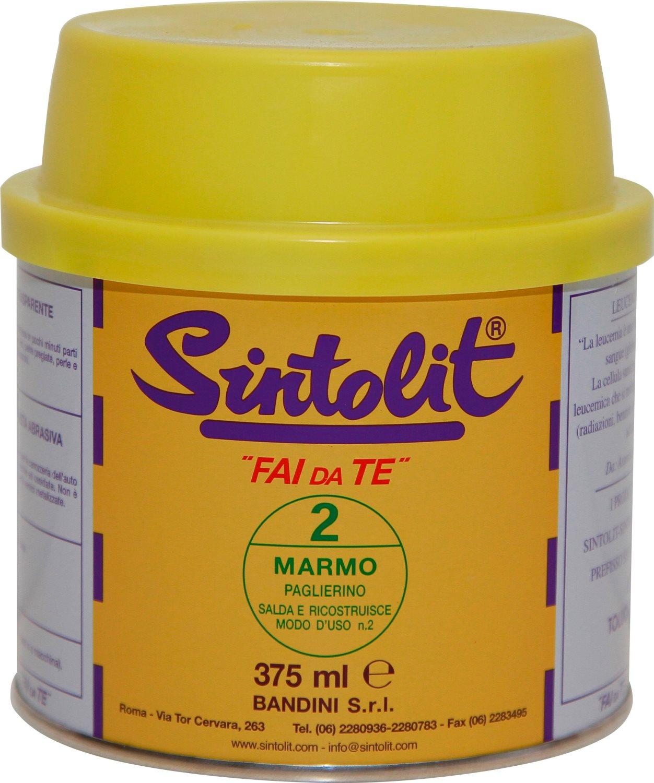 Bandini Mastice Stucco solido per marmo colore Paglierino 375 ml Sintolit