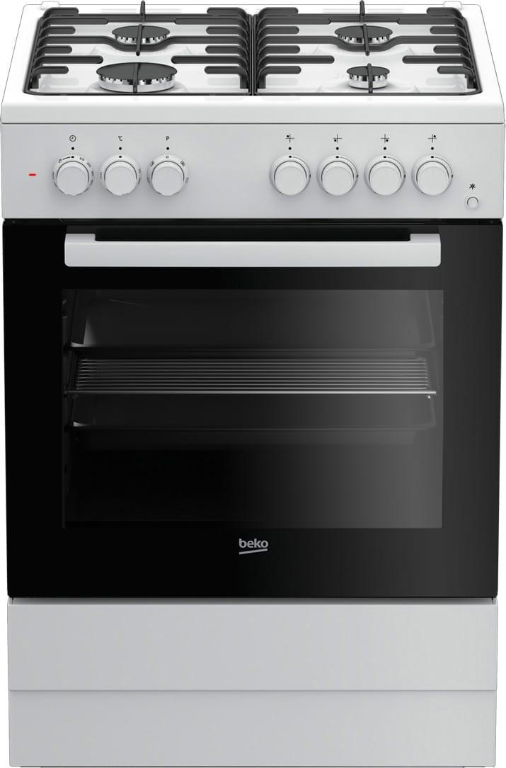 Cucina a gas beko fse62110dw forno elettrico 60x60 prezzoforte 105707 - Cucine con forno elettrico ventilato ...