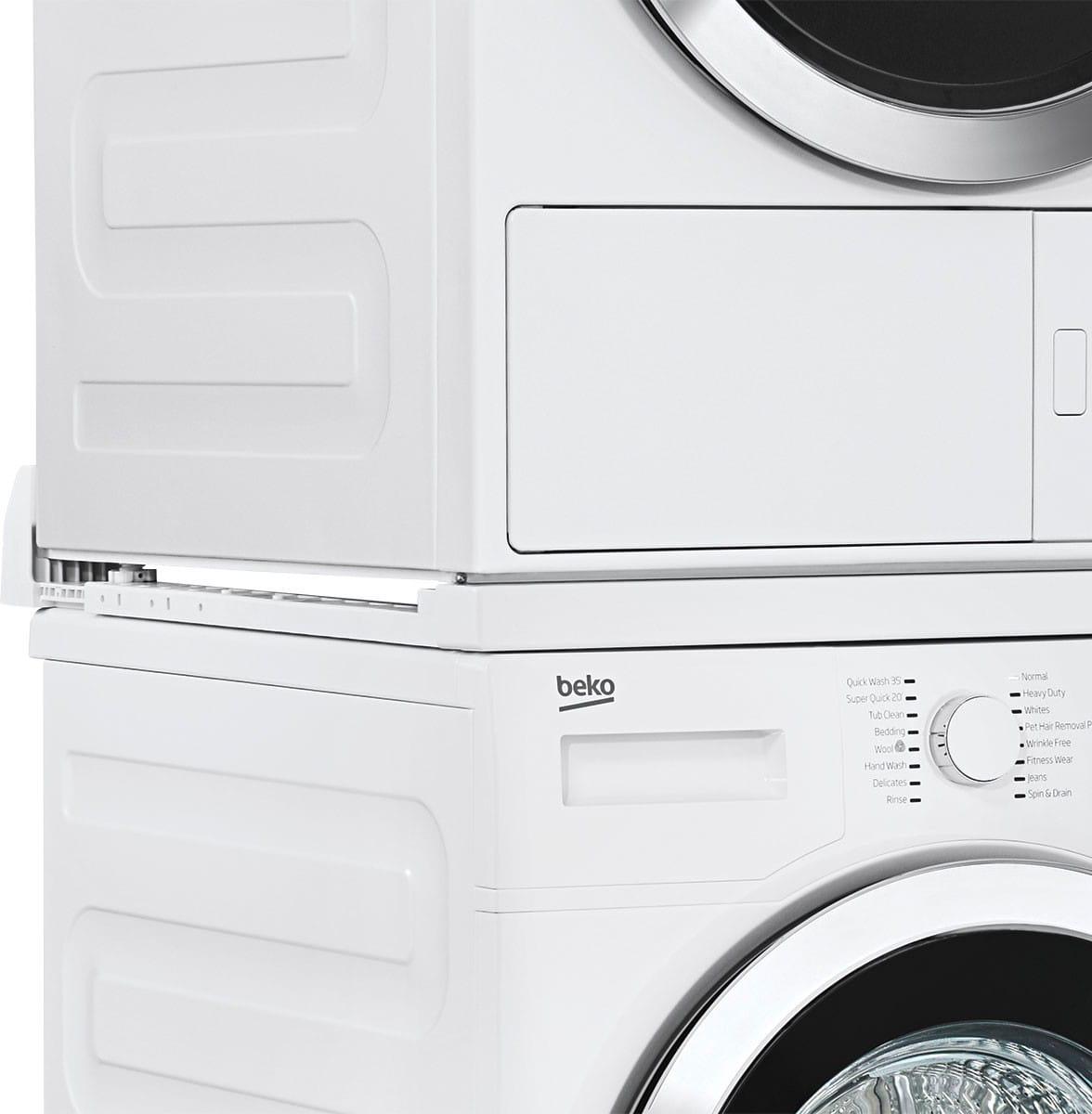 Colonna Per Lavatrice E Asciugatrice kit colonna bucato per incolonnamento lavatrice e asciugatrice standard -  stacking-kit