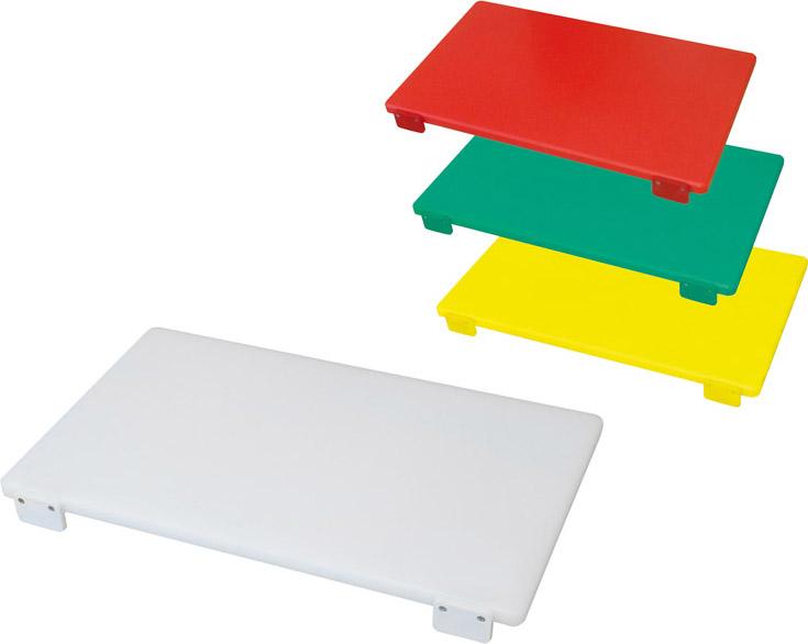 Bertoli Tagliere in polietilene con Fermo 60X40X3 colore Bianco TAG_BI
