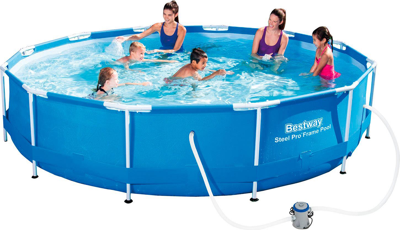 Piscina fuori terra bestway telaio portante rotonda 366x76 h 56416 piscine fuori terra su - Bestway piscine fuori terra ...