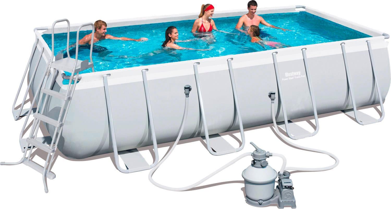 Piscina fuori terra bestway telaio portante rettangolare for Accessori piscine fuori terra bestway