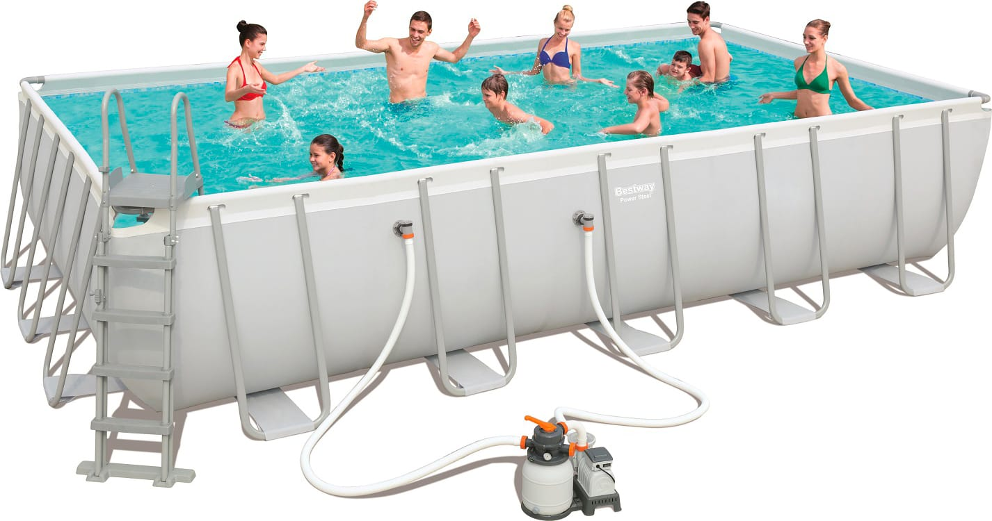 Piscina fuori terra bestway telaio portante rettangolare 671x366x132 56471 piscine fuori terra - Piscina fuoriterra bestway ...