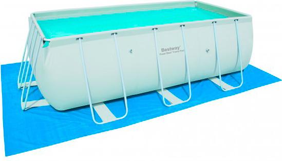 piscina fuori terra bestway telaio portante rettangolare