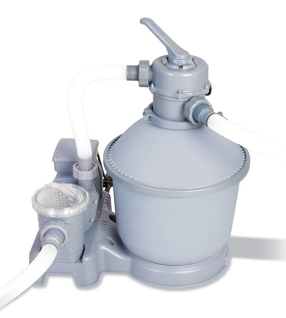 Bestway pompa filtro a sabbia piscina l h 58400 79441 - Filtro piscina a sabbia ...