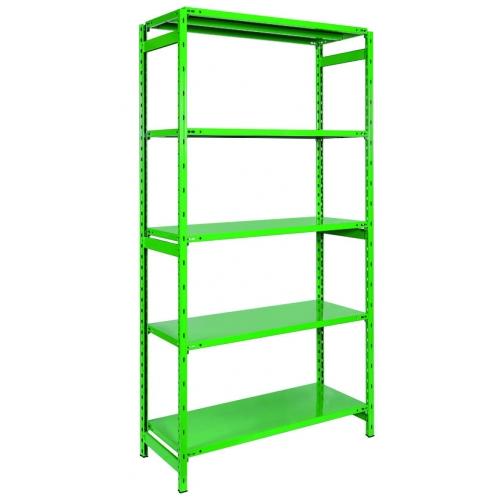 Viceversa Scaffali Metallo.Scaffale Metallo Scaffalatura 5 Ripiani Cm 106x42x180 H Colore Verde Lb1 100ve
