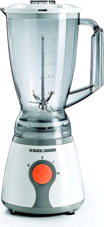 Black&Decker Frullatore Bicchiere Capacità 1,5 Litri 300 W BL 300 QS