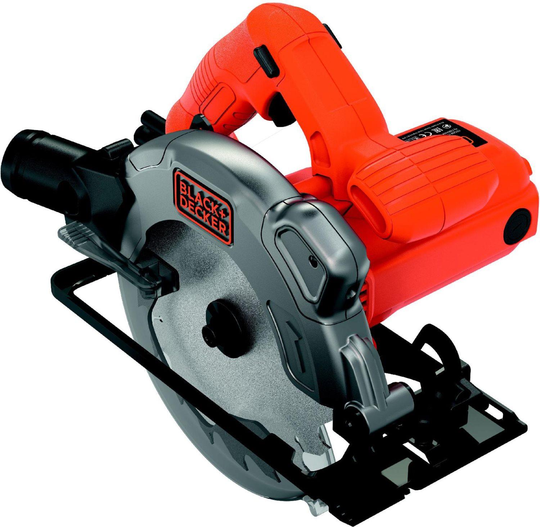 Black&Decker Sega Circolare legno ferro 1250W Ø Lama 190mm 5300 girimin CS1250L