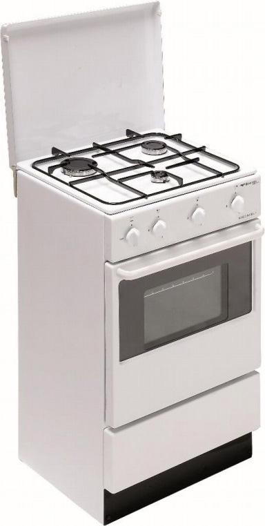 Bompani Cucina Gas 3 Fuochi Forno Gas Larghezza × Profondità 48×45 cm BI910AAN