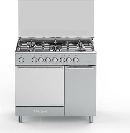 Cucina A Gas Bompani Bo943Cc/L Forno Elettrico Ventilato 90X60 ...
