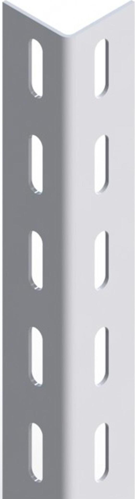 Bondi Angolare per Scaffali Scaffalature 40x40 Asole Ovali 250 cm Linea Basic
