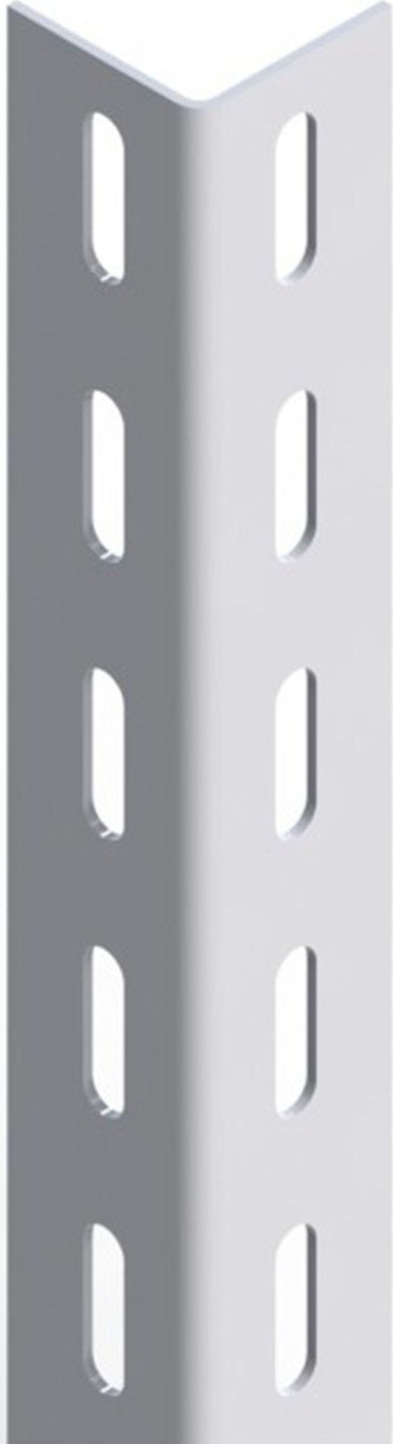 Bondi Angolare per Scaffali Scaffalature 40x40 Asole Ovali 300 cm Linea Basic