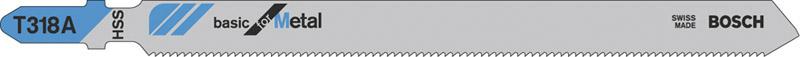 Bosch lama per Seghetto alternativo Lunghezza dentatura mm 100 passo mm 12 T318A