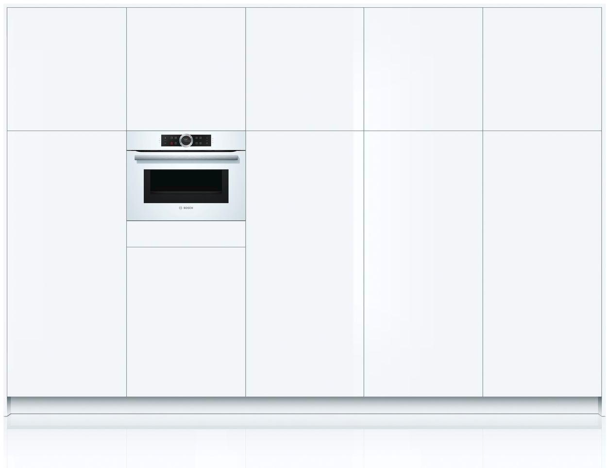 Bosch forno elettrico da incasso ventilato multifunzione - Forno elettrico e microonde insieme ...