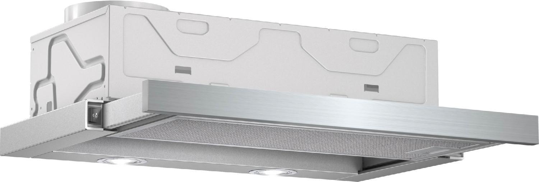 Bosch cappa cucina aspirante sottopensile incasso larghezza 60 cm colore inox dfm064w50 - Cappa cucina 60 cm ...