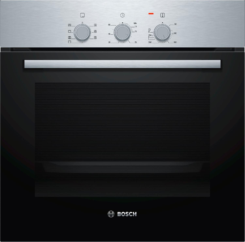 Bosch forno elettrico da incasso ventilato con grill capacit 66 litri classe energetica a - Forno ventilato da incasso ...