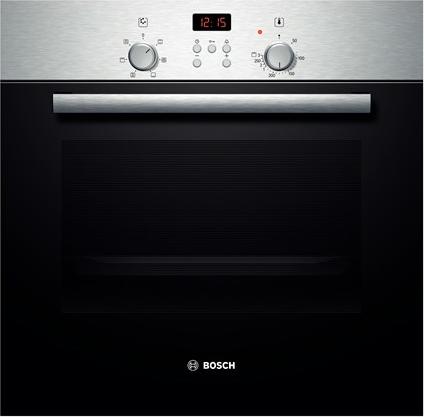Forno bosch hbn331e4j serie 2 forno da incasso elettrico ventilato con grill multifunzione in - Forno ventilato da incasso ...