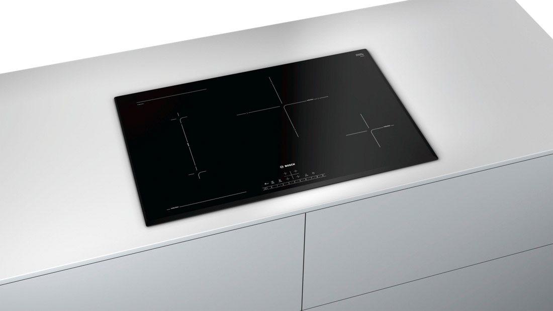 piano cottura induzione bosch 80 cm pvs851fb1e serie 6 prezzoforte 137824. Black Bedroom Furniture Sets. Home Design Ideas