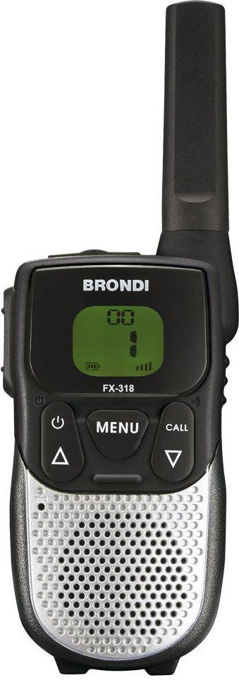Brondi Ricetrasmittenti 8 Canali Raggio 10 Km Autonomia 20 H - FX-318 - TWIN