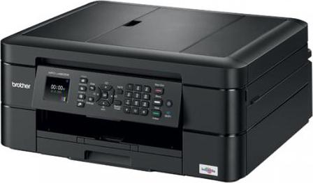Brother Stampante multifunzione Ink-Jet a Colori A4 Wi-Fi USB LAN MFC-J480DW