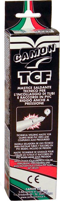 CAMON Colla Mastice Saldante per tubi ABS PVA e polistirolo rigido 125 gr TCF