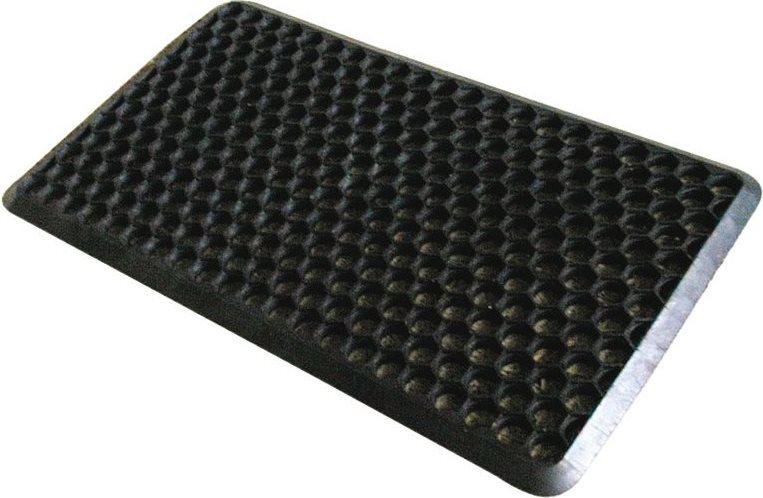 cenni zerbino da esterno porta in pvc cm 70x40 colore nero