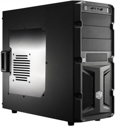 Cooler Master Case PC USB 3.0 ATX  mATX Middle Tower Master K350 - RC-K350-KWN2