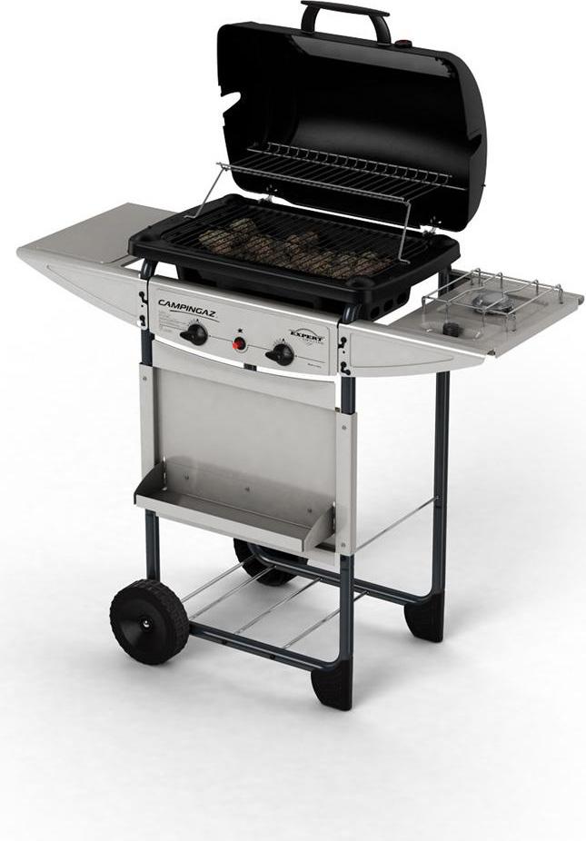 Campingaz barbecue a gas pietra lavica da esterno bbq da - Barbecue da esterno a gas ...